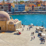 old port of Chania on Crete_443215162