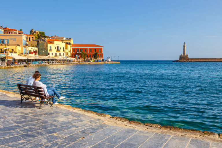 Chania, Picturesque Harbour Town in Greece