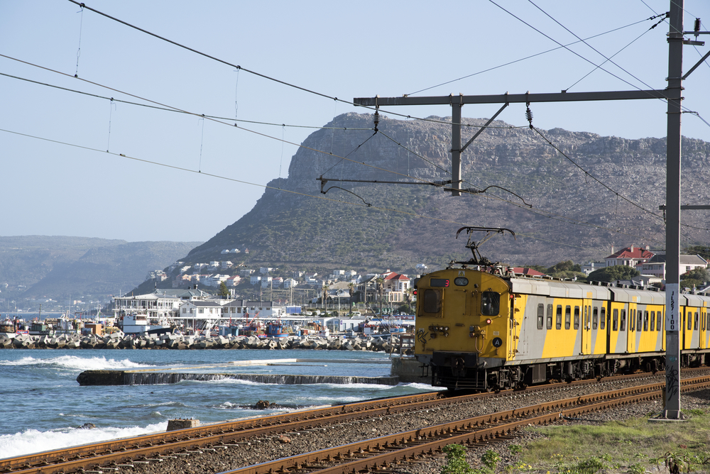 Cape Town and Simon Town seen here passing Kalk Bay_432326257