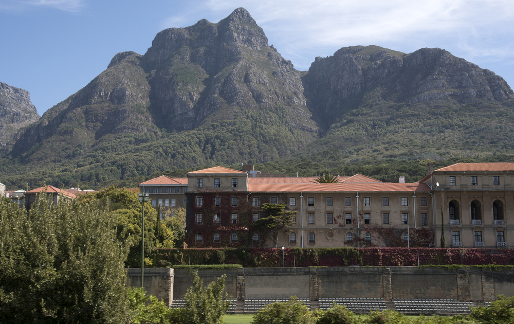 Cape Town University campus in the Western Cape_418366432