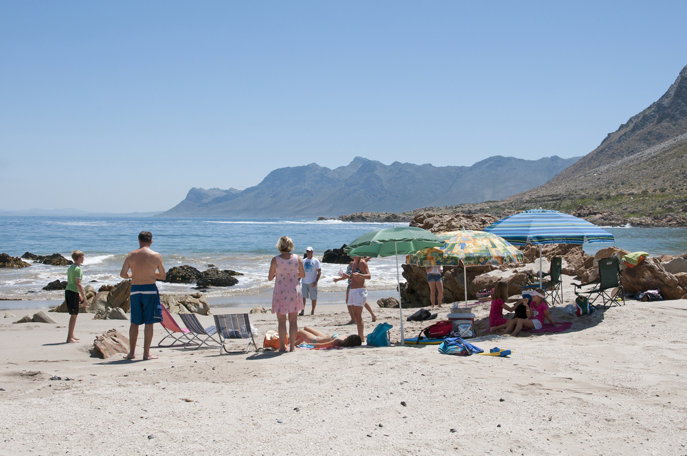 beach at Rooi Els on the Cape Whale Coast _351579668