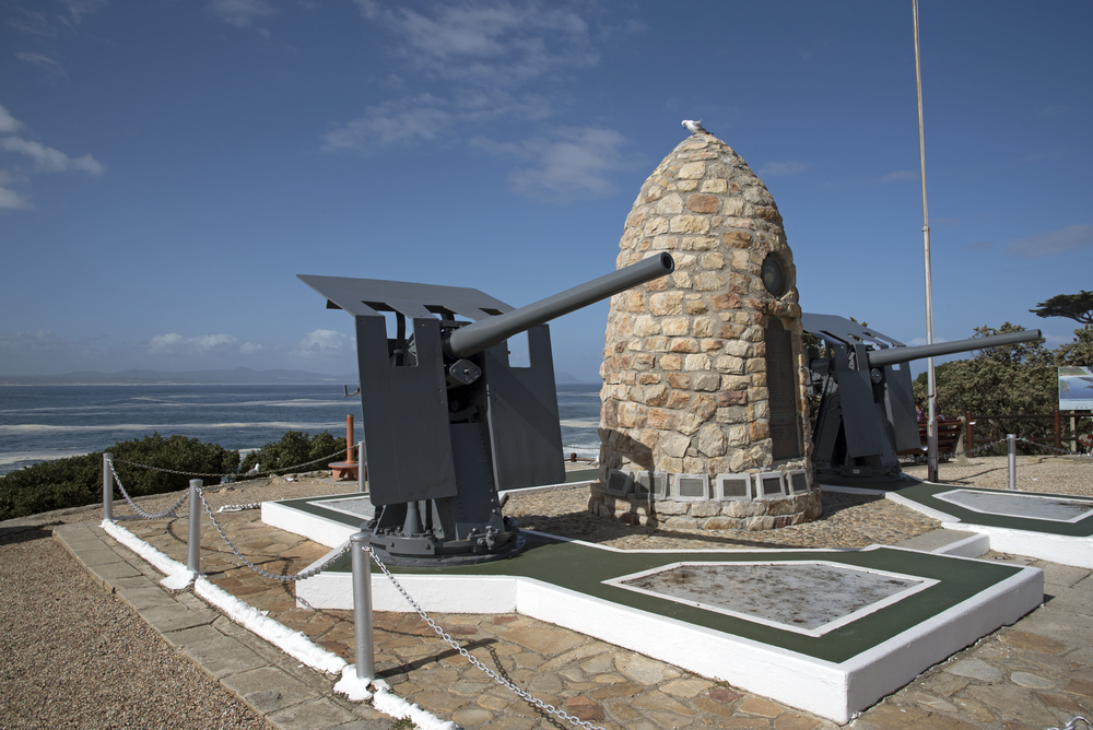 War Memorial on the seafront in Hermanus _433206706