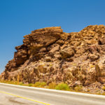 Highway 65 near the Dead Sea_479061106