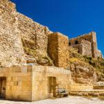 Medieval Crusaders Castle in Al Karak _479061112