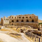 Medieval Crusaders Castle in Al Karak _479061136