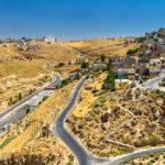 View of Al Karak city from the castle – Jordan_479061073