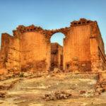 Qasr Al-Bint, a temple in Petra_476356267