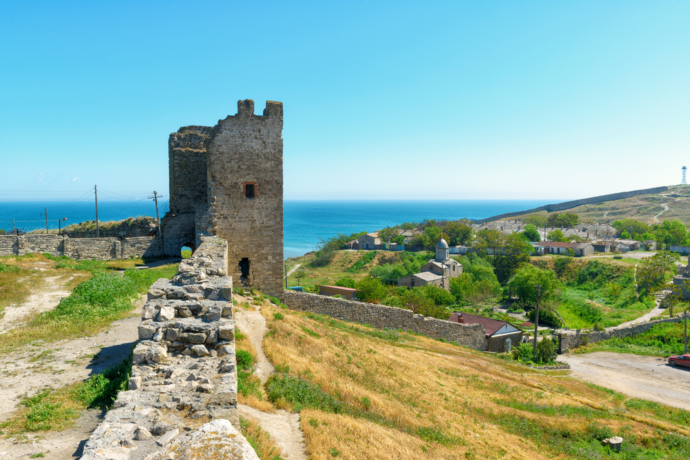 genoese-fortress-in-the-city-of-feodosia-crimea_431460844