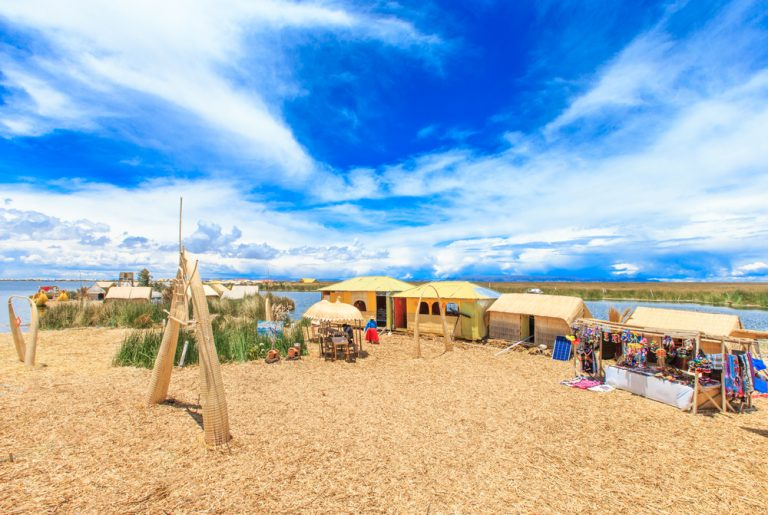 Uros Islands and Titicaca Lake, Unique Attraction in Peru