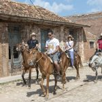 streets of Trinidad with horses_558235717