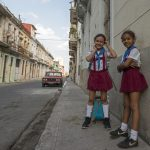 Cuban children with school clothes havana_555214189