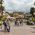 Piazza Catello in Sirmione, Lake Garda, Italy_475303579