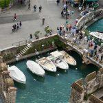 Backwater inside the Scaliger Castle – medieval port fortress_516589015