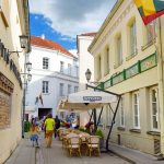 Narrow streets of the Old Town of Vilnius_554524033
