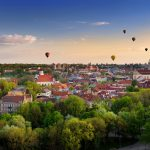 panorama of Vilnius old town_480107866