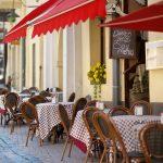 outdoor restaurant in Vilnius_209287153