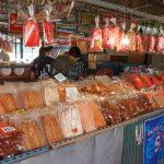Wat Lampaya Floating Market Nestled along the Tha Jeen river in Nakhon Pathom_543391795