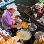 Wat Lampaya Floating Market Nestled along the Tha Jeen river in Nakhon Pathom _539167654