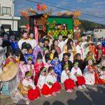 Fox Wedding Festival parade in Kudamatsu_554857279