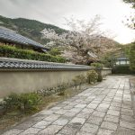 Alley in Arashiyama, Kyoto, Japan_474994471
