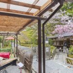 Nison-in temple in Arashiyama, Kyoto_417581257
