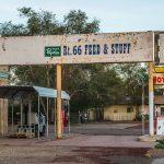 Route 66 in Seligman, Arizona_524564596