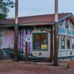 Route 66 in Seligman, Arizona_565628410