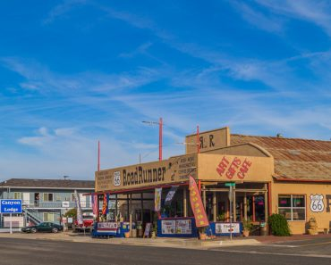 Route 66 in Seligman, Old American Town in Arizona