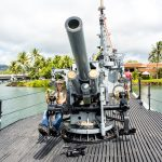 Bowfin Submarine in Pearl Harbor on the island of Oahu_529267651