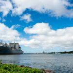Pearl Harbor in Oahu, Hawaii_529149481