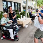 Pearl Harbor visitor takes photo of Herb Weatherwax_529146346