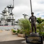 U.S.S. Missouri in Pearl Harbor_512383720