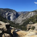 Yosemite Valley from the top of Nevada Falls _560441947