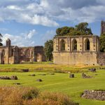 ruins of Glastonbury Abbey,_356580422