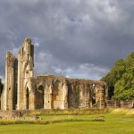 ruins of Glastonbury Abbey_356580419