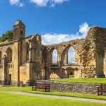 ruins of Glastonbury Abbey_356580428