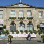 townhall in Glastonbury, Somerset, England_329538176