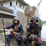 Ancient firelock rifle fighters at Marugame Historical battle Festival_522325651