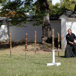 Katana sword fighters at Marugame Iai Festival_331843493