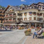 Madonna di Campiglio village, Rendena valley, Brenta Dolomites_571667875