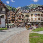 Madonna di Campiglio village, Rendena valley, Brenta Dolomites_571667881