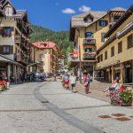 Madonna di Campiglio village, Rendena valley, Brenta Dolomites_571667890