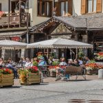 Madonna di Campiglio village, Rendena valley, Brenta Dolomites_571667839