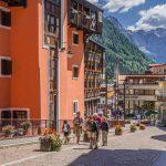 Madonna di Campiglio village, Rendena valley, Brenta Dolomites_571667869