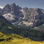 Central Brenta mountain range as seen from Monte Spinale mountain_569565829