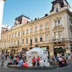 Knez Mihailova Street, the main shopping mile of Belgrade_394192477