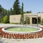 Exterior detail from the Mausoleum Of Josip Broz Tito_393055708