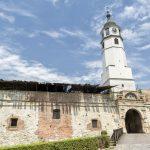 Clock Gate Inside Belgrade Fortress, Belgrade, Serbia_392969617