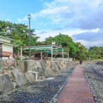 shelter of hot sand bath in beppu_538107670