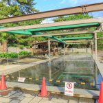 shelter of hot sand bath in beppu_538107724